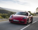 2019 Porsche 718 Cayman T (Color: Guards Red) Front Wallpapers 150x120 (34)