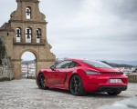 2019 Porsche 718 Cayman T (Color: Guards Red) Rear Three-Quarter Wallpapers 150x120 (42)