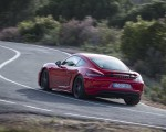2019 Porsche 718 Cayman T (Color: Guards Red) Rear Three-Quarter Wallpapers 150x120 (27)