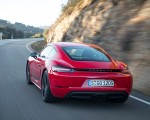 2019 Porsche 718 Cayman T (Color: Guards Red) Rear Wallpapers 150x120 (37)