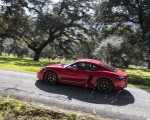 2019 Porsche 718 Cayman T (Color: Guards Red) Side Wallpapers 150x120 (39)