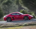 2019 Porsche 718 Cayman T (Color: Guards Red) Side Wallpapers 150x120 (28)