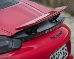 2019 Porsche 718 Cayman T (Color: Guards Red) Spoiler Wallpapers 150x120 (49)