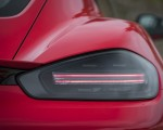 2019 Porsche 718 Cayman T (Color: Guards Red) Tail Light Wallpapers 150x120 (48)