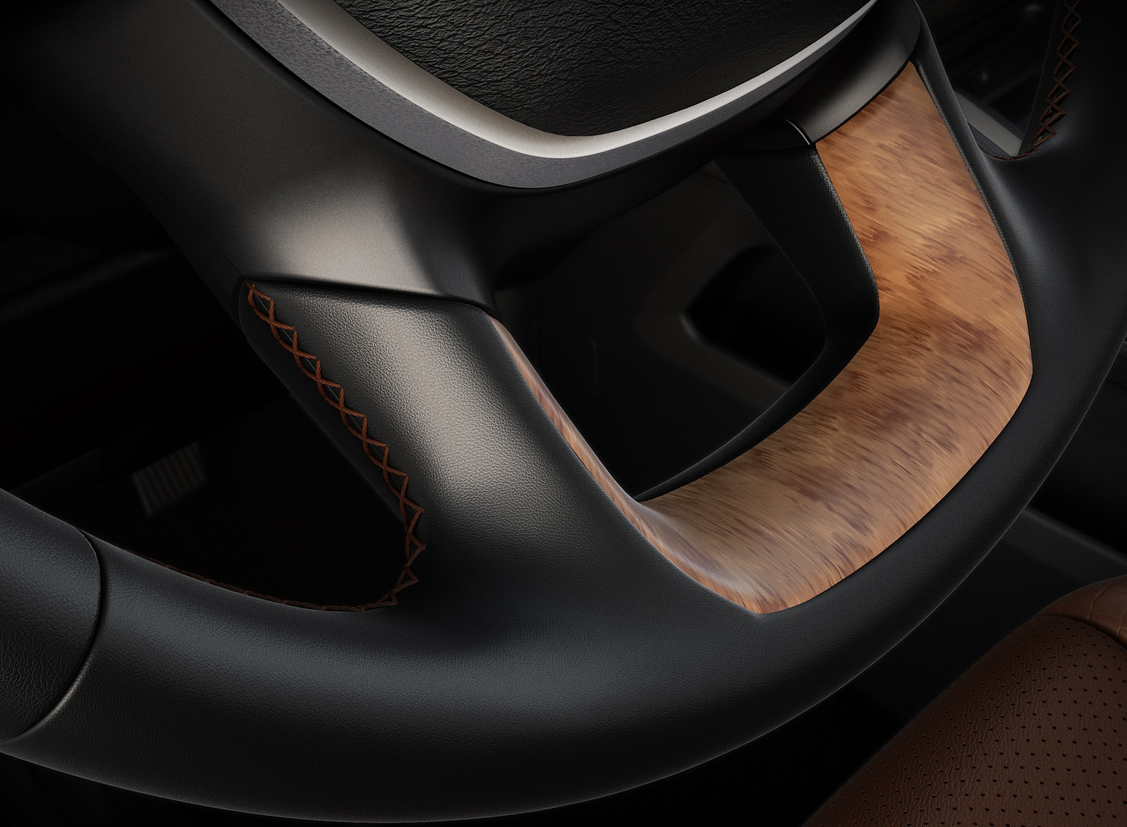 2019 Ram 1500 Laramie Longhorn Edition Interior Steering Wheel Wallpapers (15)