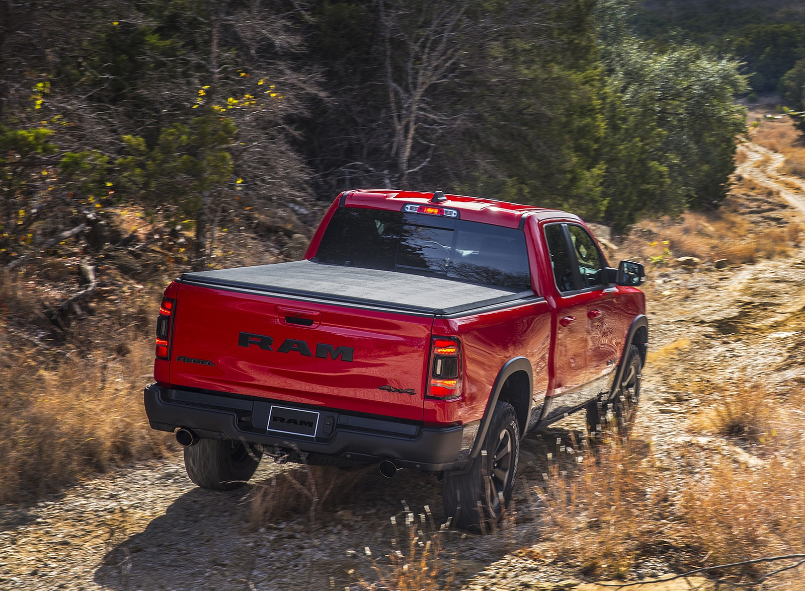 2019 Ram 1500 Rebel Rear Wallpapers (9)