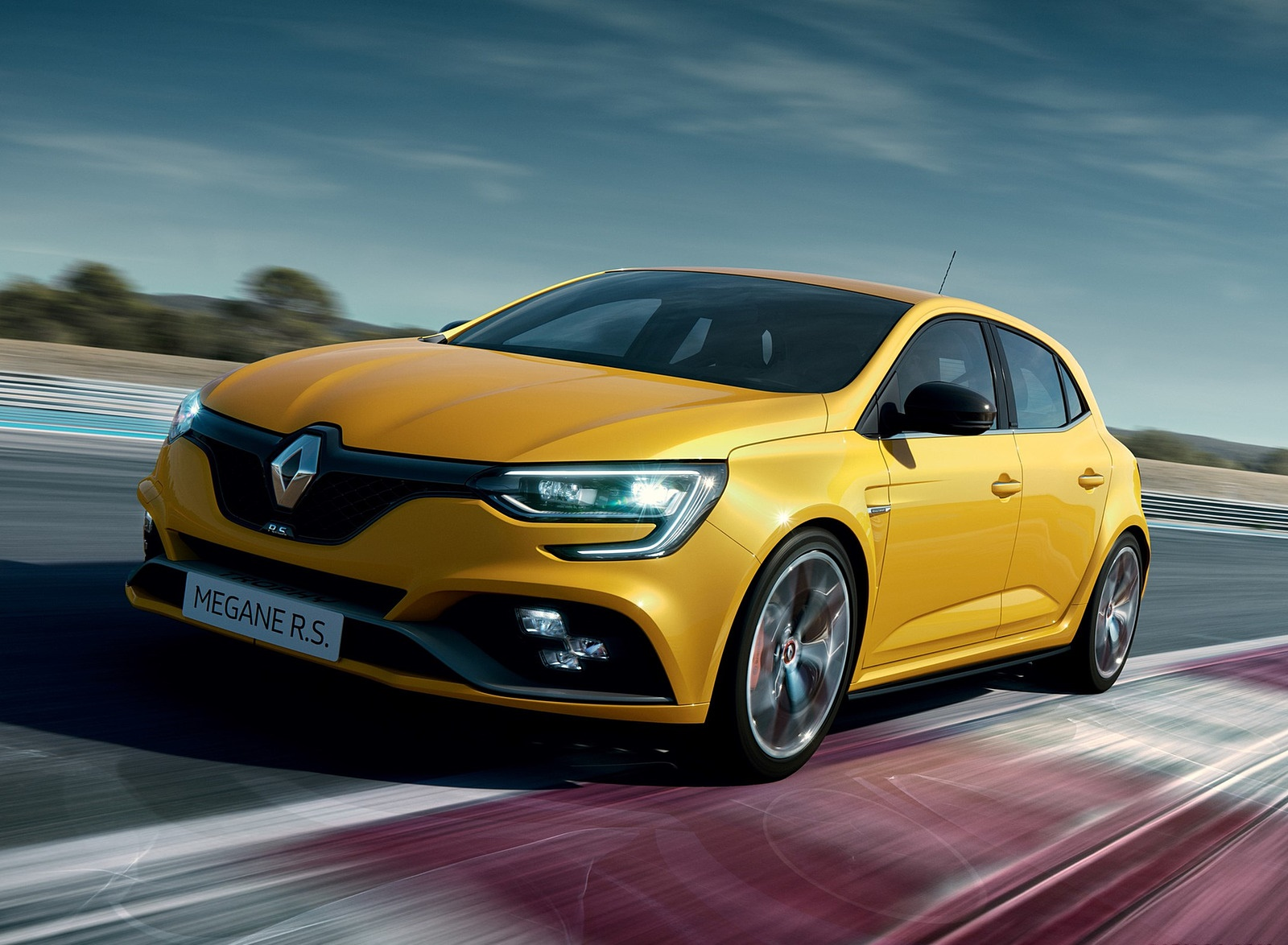 2019 Renault Megane R.S. Trophy Front Three-Quarter Wallpapers (2)