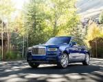 2019 Rolls-Royce Cullinan (Color: Salamanca Blue) Front Three-Quarter Wallpapers 150x120 (8)