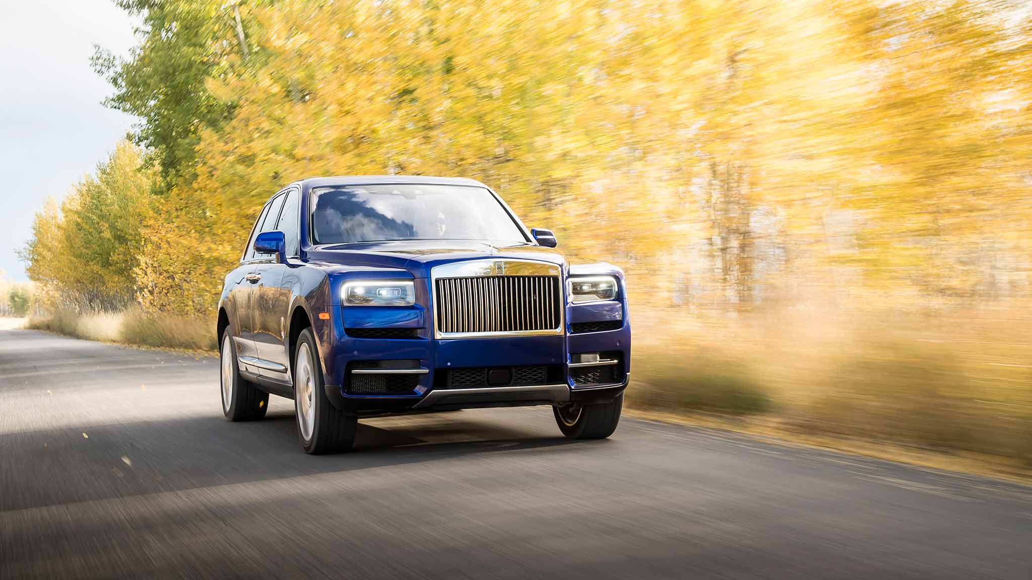 2019 Rolls-Royce Cullinan (Color: Salamanca Blue) Front Wallpapers (4)