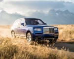 2019 Rolls-Royce Cullinan (Color: Salamanca Blue) Front Wallpapers 150x120 (11)
