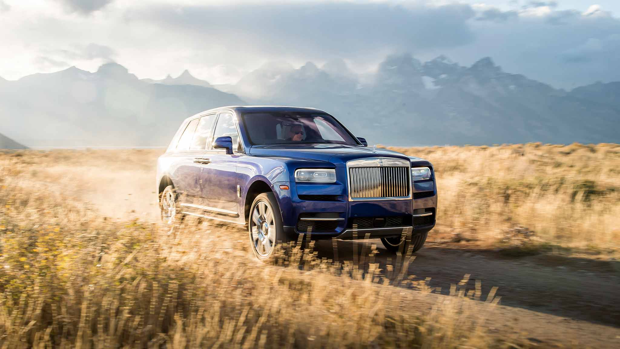2019 Rolls-Royce Cullinan (Color: Salamanca Blue) Front Wallpapers (11)