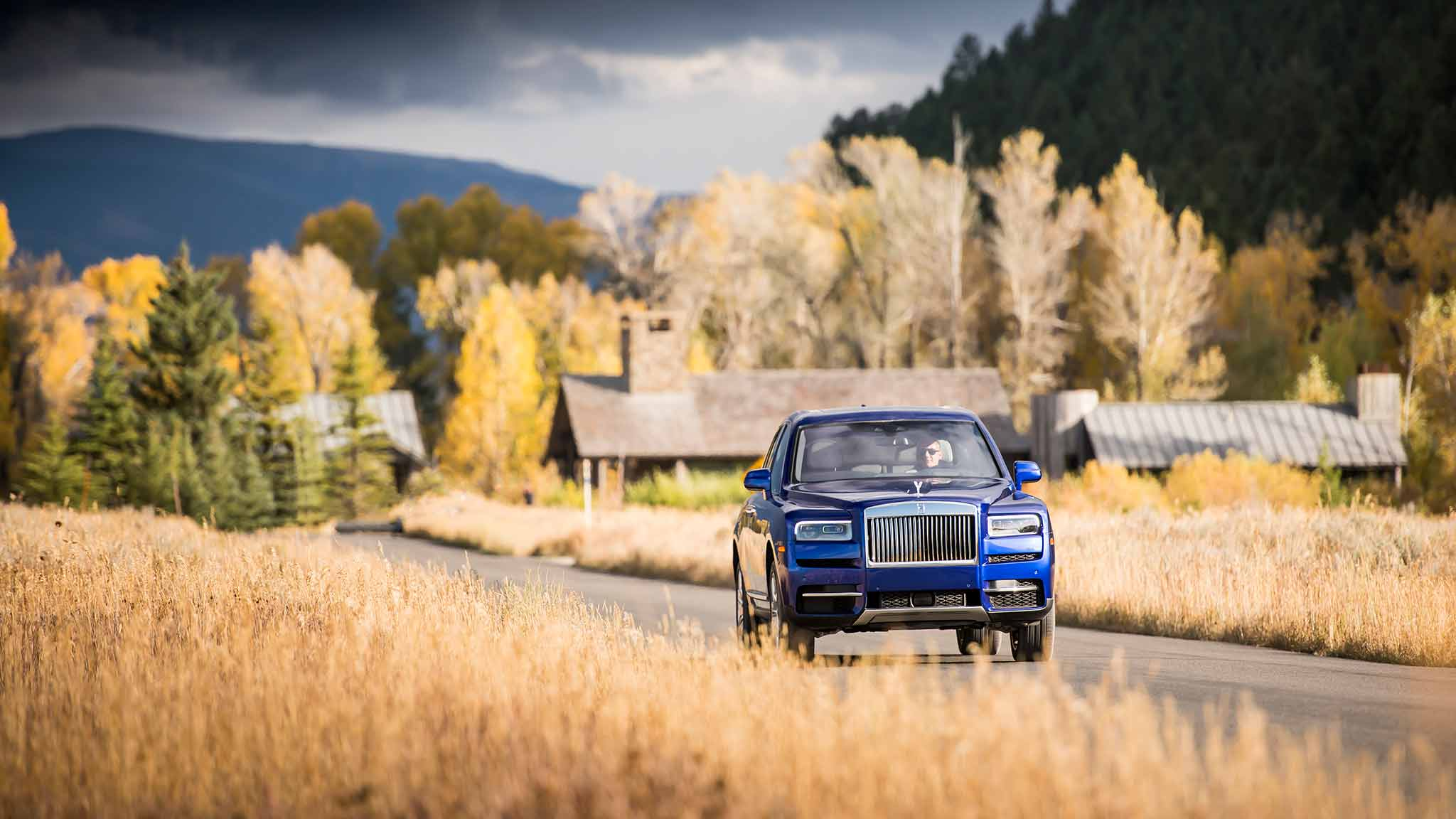 2019 Rolls-Royce Cullinan (Color: Salamanca Blue) Front Wallpapers (14)