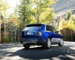2019 Rolls-Royce Cullinan (Color: Salamanca Blue) Rear Three-Quarter Wallpapers 150x120 (15)
