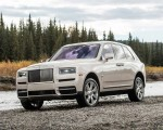 2019 Rolls-Royce Cullinan (Color: White Sands) Front Three-Quarter Wallpapers 150x120 (34)