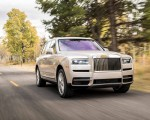 2019 Rolls-Royce Cullinan (Color: White Sands) Front Wallpapers 150x120 (30)