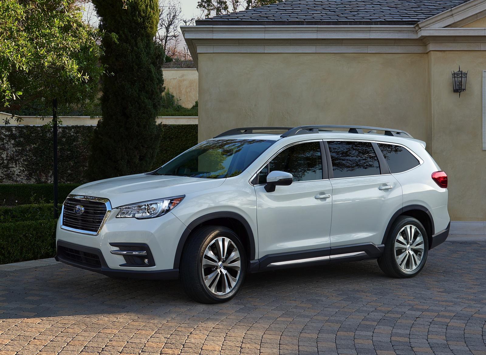 2019 Subaru Ascent Front Three-Quarter Wallpapers (8)