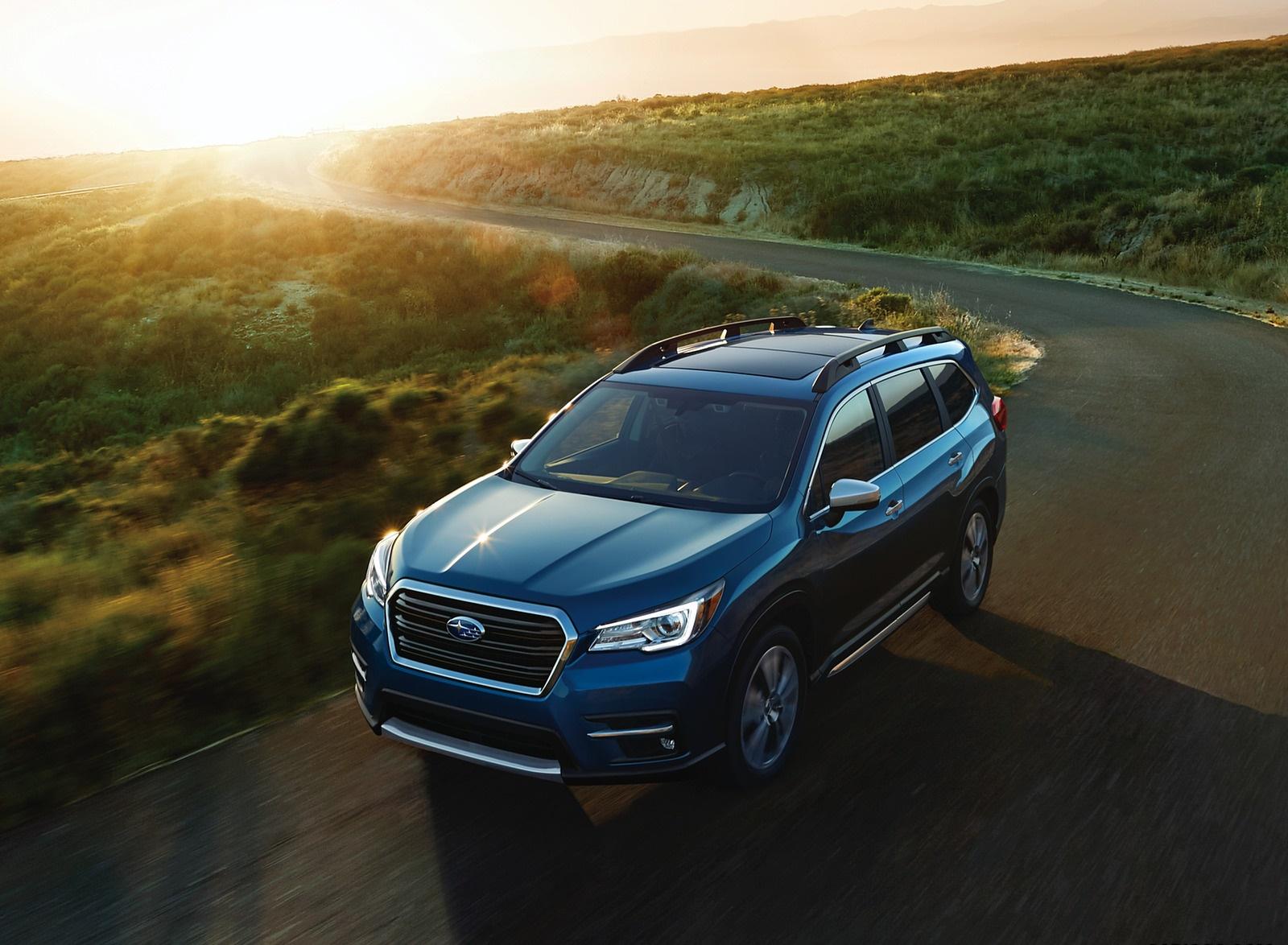 2019 Subaru Ascent Front Three-Quarter Wallpapers (1)