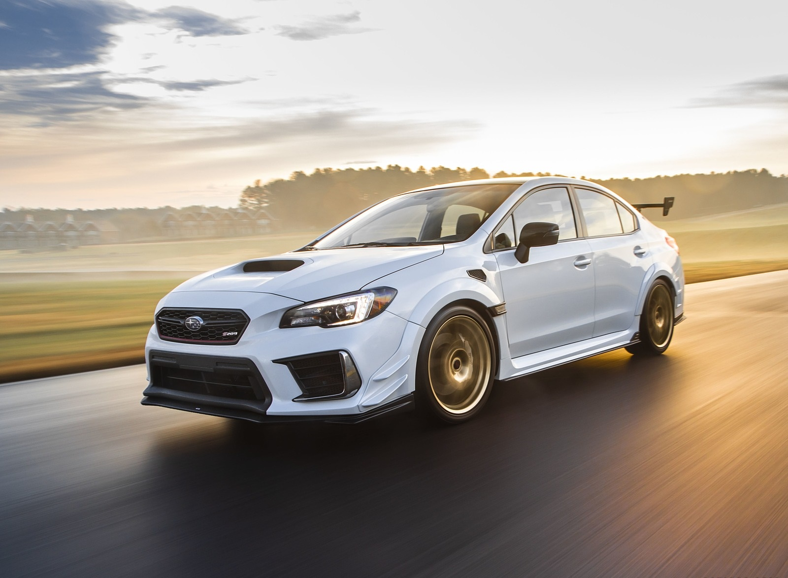 2019 Subaru WRX STI S209 Front Three-Quarter Wallpapers (4)