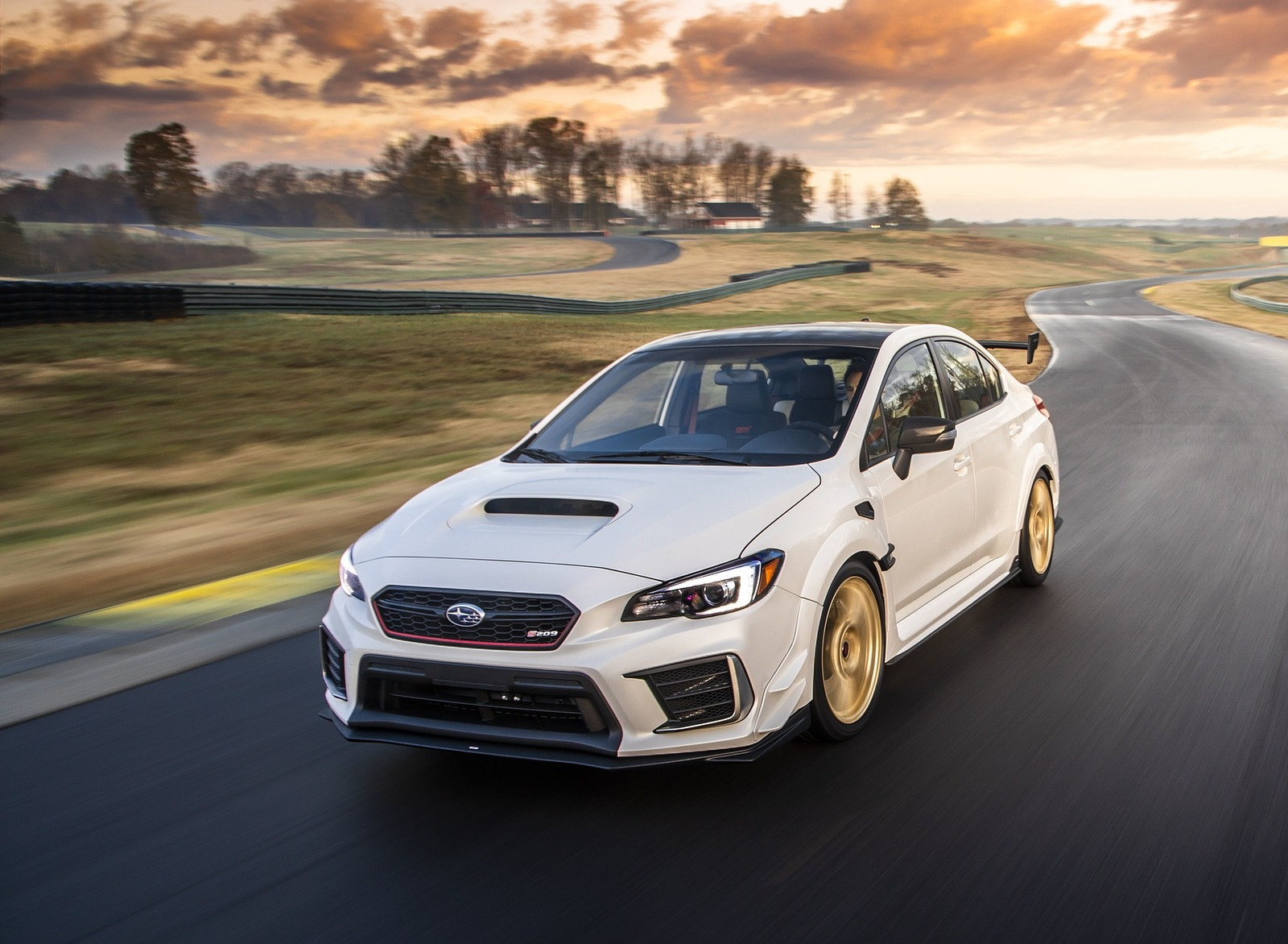 2019 Subaru WRX STI S209 Front Wallpapers (11)