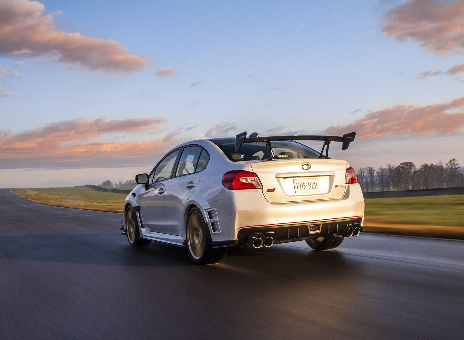 2019 Subaru WRX STI S209 Rear Three-Quarter Wallpapers (12)