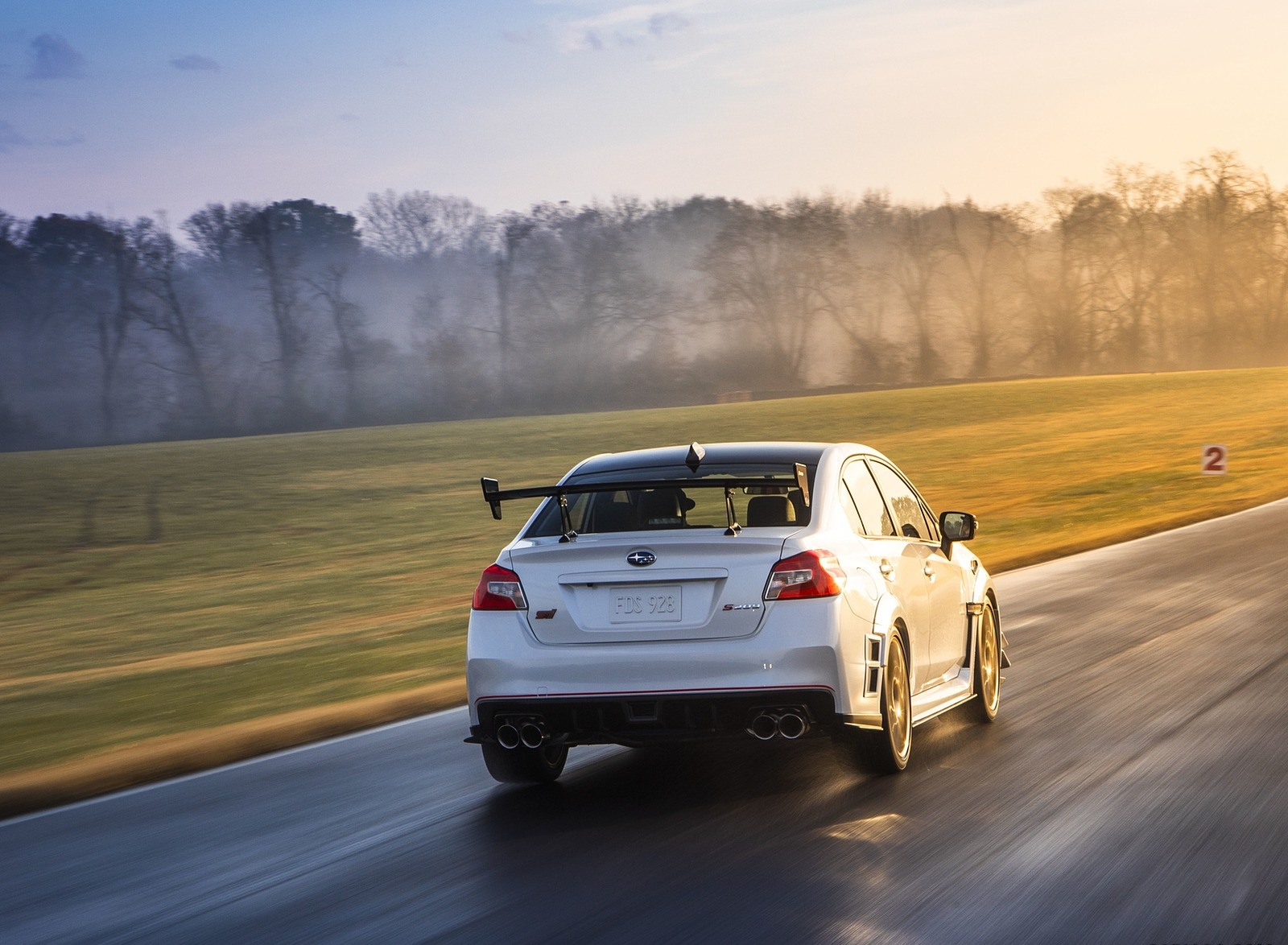 2019 Subaru WRX STI S209 Rear Wallpapers (6)