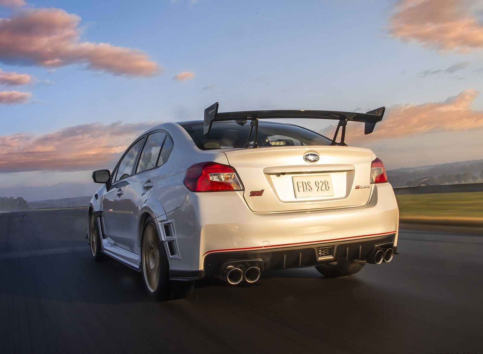 2019 Subaru WRX STI S209 Rear Wallpapers (13)