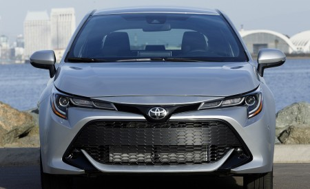 2019 Toyota Corolla Hatchback Front Wallpapers 450x275 (54)