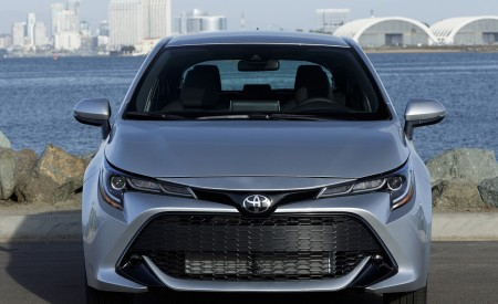 2019 Toyota Corolla Hatchback Front Wallpapers 450x275 (53)