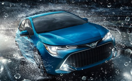 2019 Toyota Corolla Hatchback Front Wallpapers 450x275 (3)