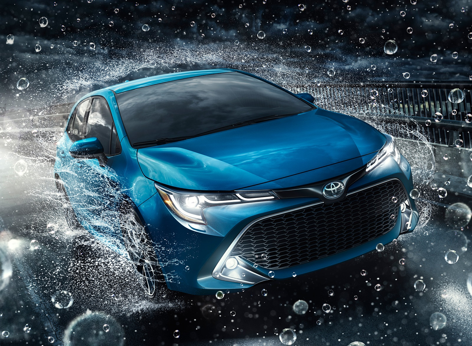 2019 Toyota Corolla Hatchback Front Wallpapers (3)