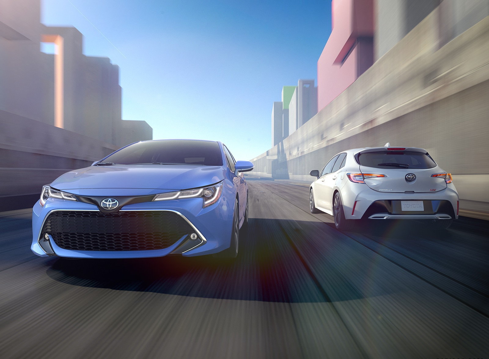 2019 Toyota Corolla Hatchback Front Wallpapers (1)