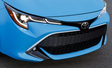 2019 Toyota Corolla Hatchback Grill Wallpapers 450x275 (36)
