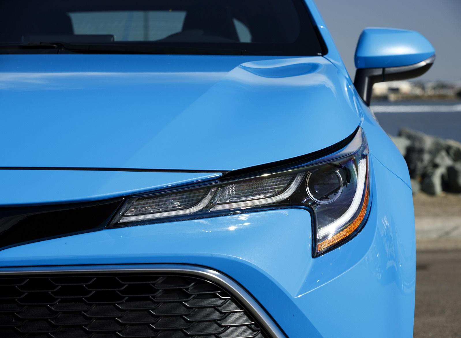 2019 Toyota Corolla Hatchback Headlight Wallpapers #35 of 75
