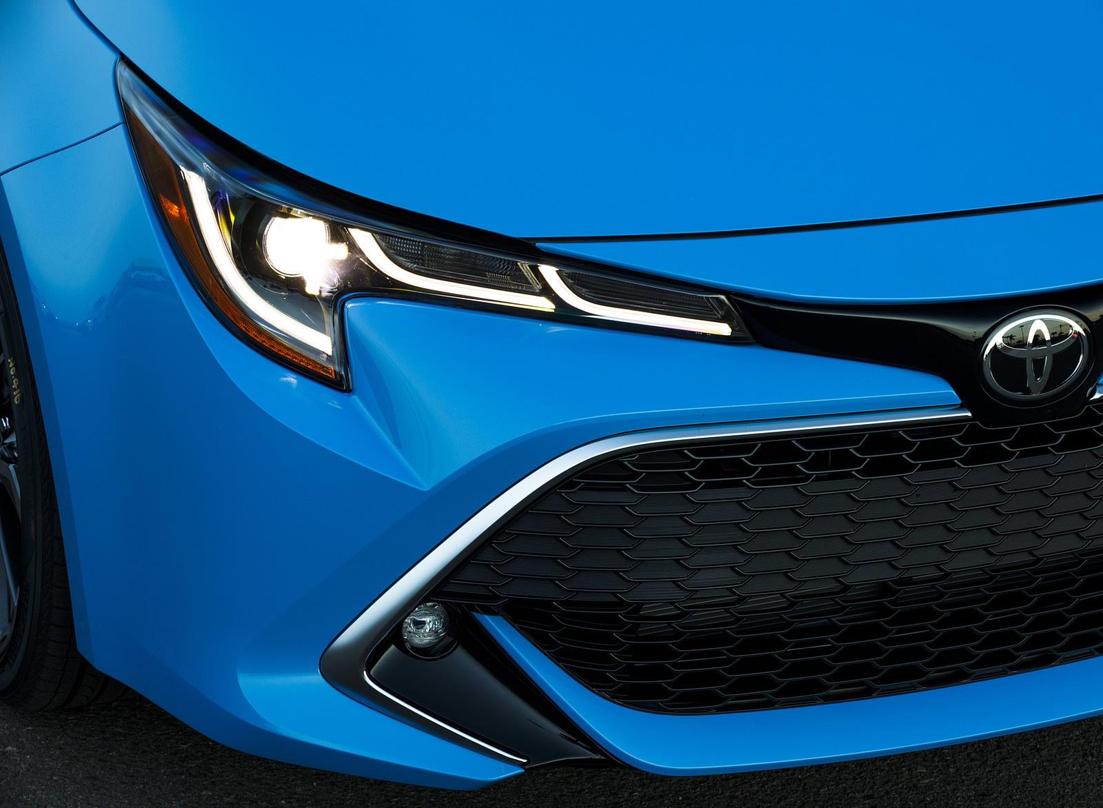 2019 Toyota Corolla Hatchback Headlight Wallpapers #34 of 75