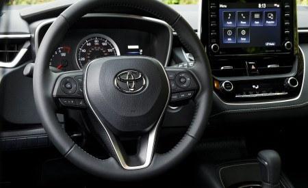 2019 Toyota Corolla Hatchback Interior Detail Wallpapers 450x275 (71)