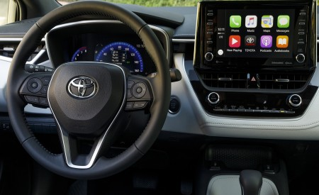 2019 Toyota Corolla Hatchback Interior Detail Wallpapers 450x275 (46)