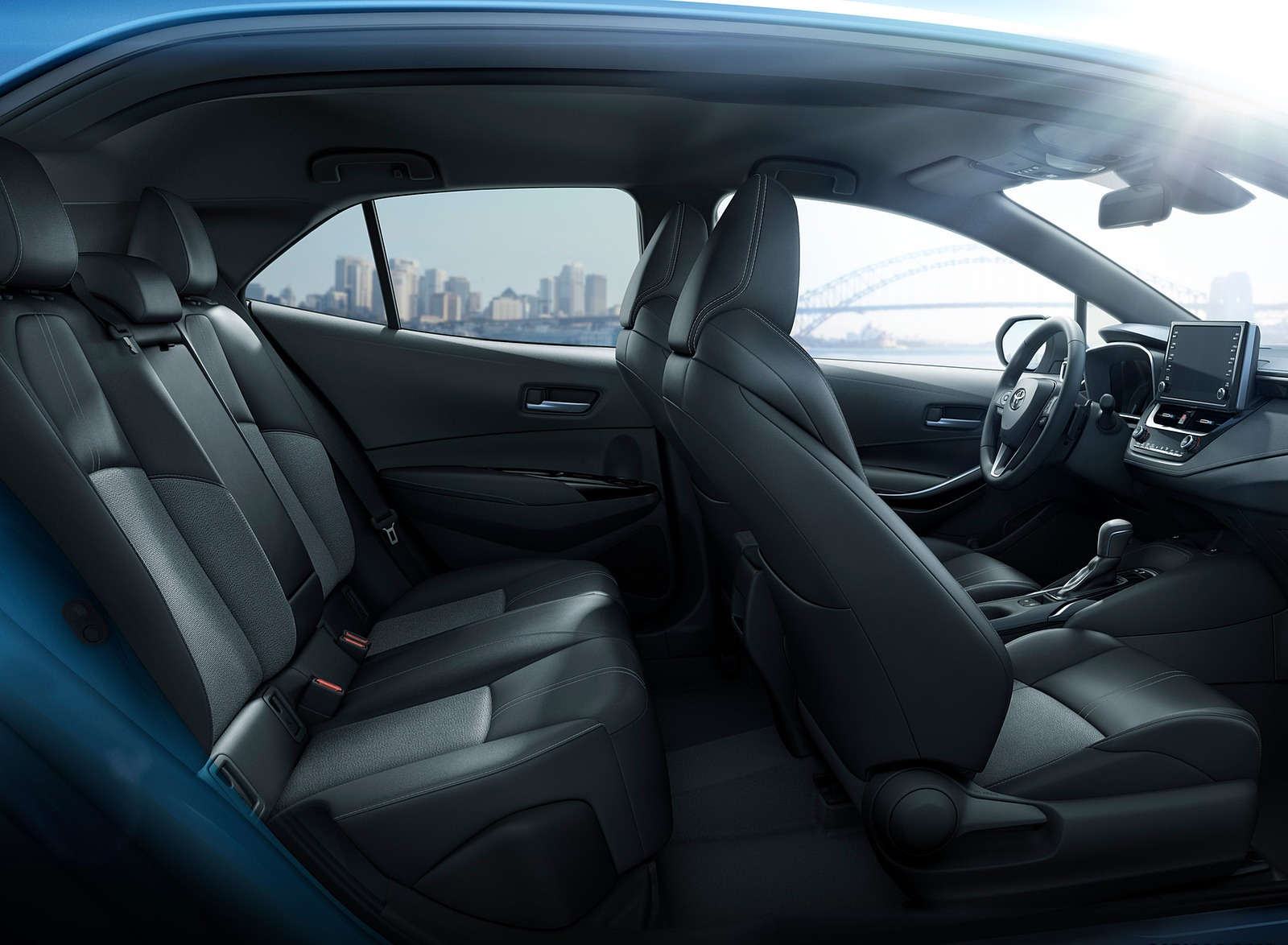 2019 Toyota Corolla Hatchback Interior Seats Wallpaper (15)