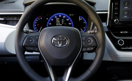 2019 Toyota Corolla Hatchback Interior Steering Wheel Wallpapers 450x275 (41)