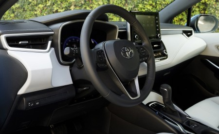 2019 Toyota Corolla Hatchback Interior Wallpapers 450x275 (49)
