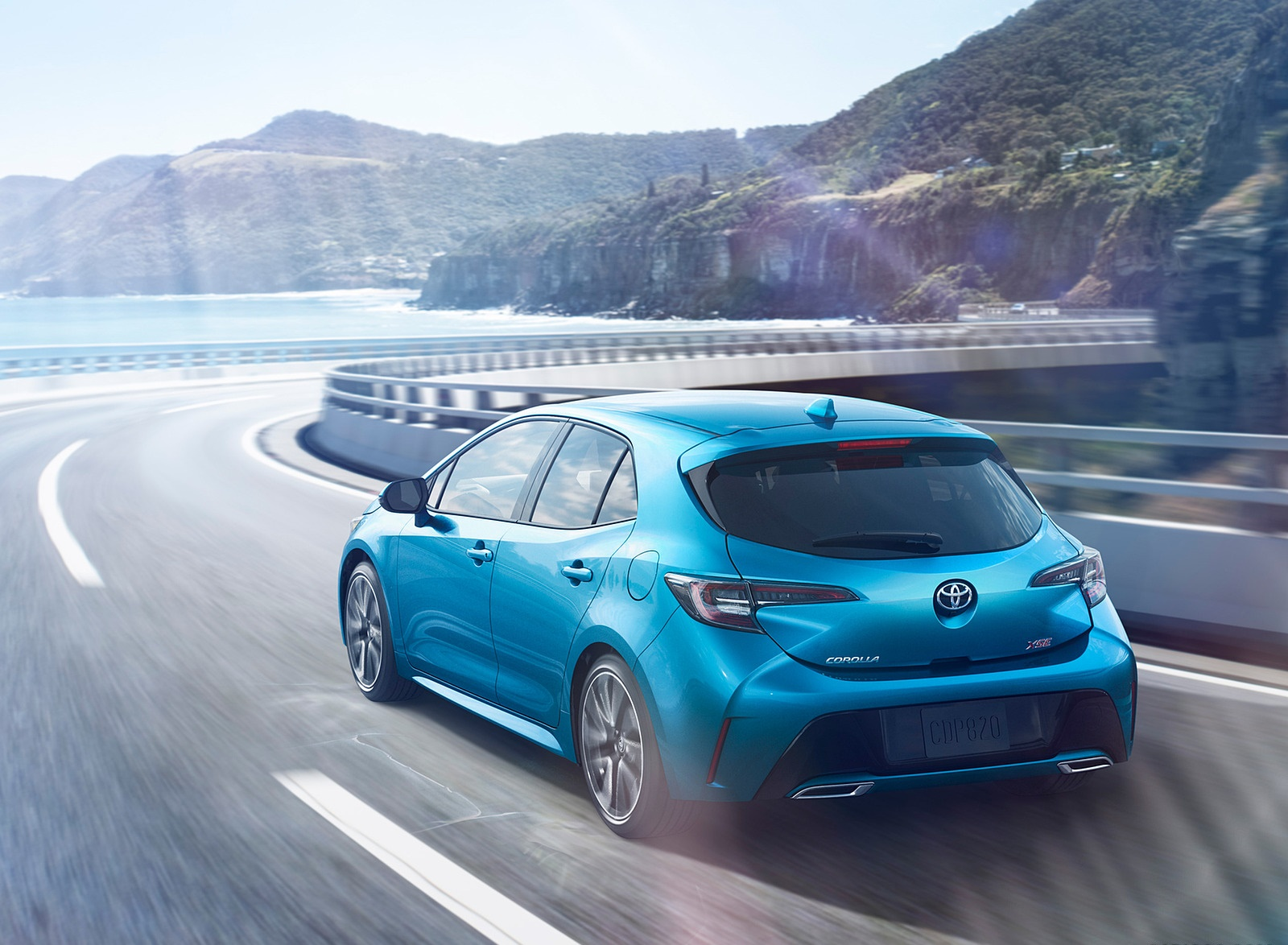 2019 Toyota Corolla Hatchback Rear Three-Quarter Wallpapers (7)