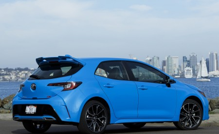 2019 Toyota Corolla Hatchback Rear Three-Quarter Wallpapers 450x275 (30)