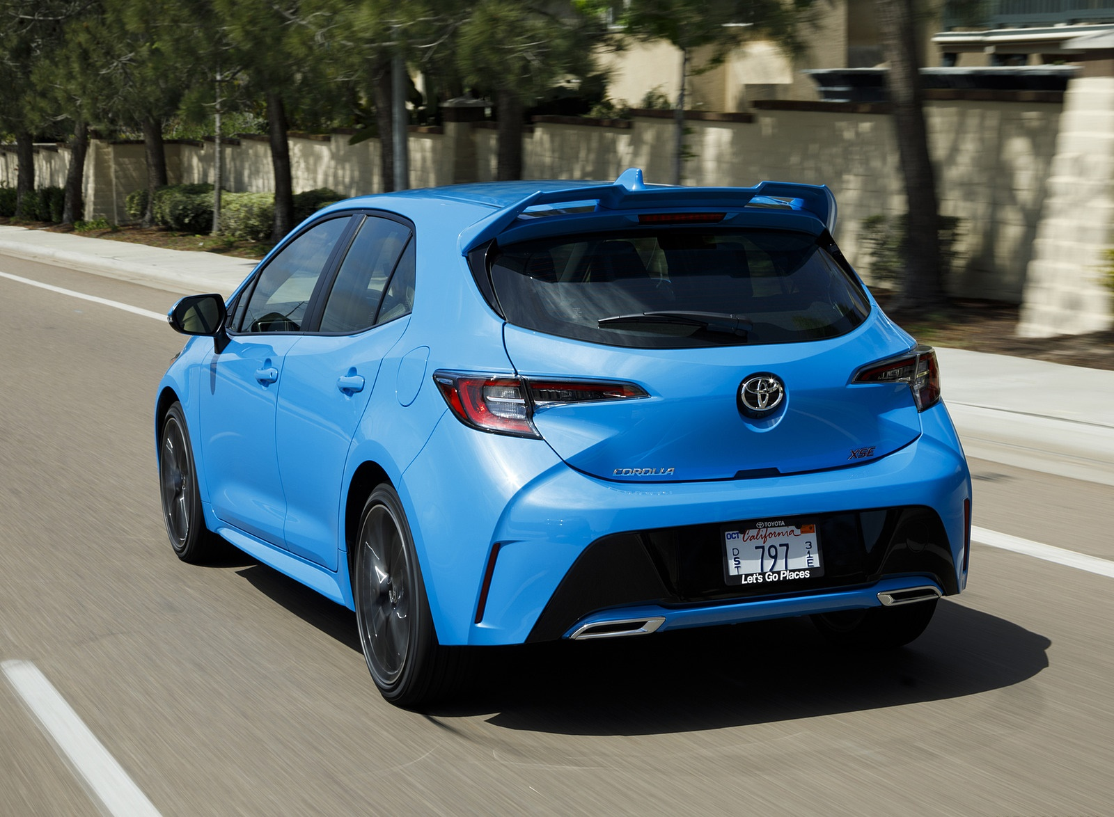 2019 Toyota Corolla Hatchback Rear Three-Quarter Wallpapers #29 of 75
