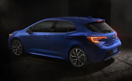 2019 Toyota Corolla Hatchback Rear Three-Quarter Wallpapers 450x275 (8)