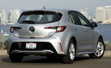 2019 Toyota Corolla Hatchback Rear Wallpapers 450x275 (60)