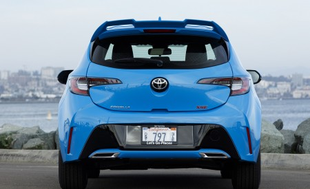 2019 Toyota Corolla Hatchback Rear Wallpapers 450x275 (28)