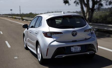 2019 Toyota Corolla Hatchback Rear Wallpapers 450x275 (59)