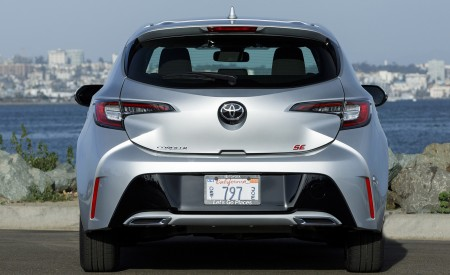 2019 Toyota Corolla Hatchback Rear Wallpapers 450x275 (58)