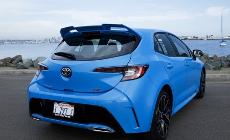 2019 Toyota Corolla Hatchback Rear Wallpapers 450x275 (27)
