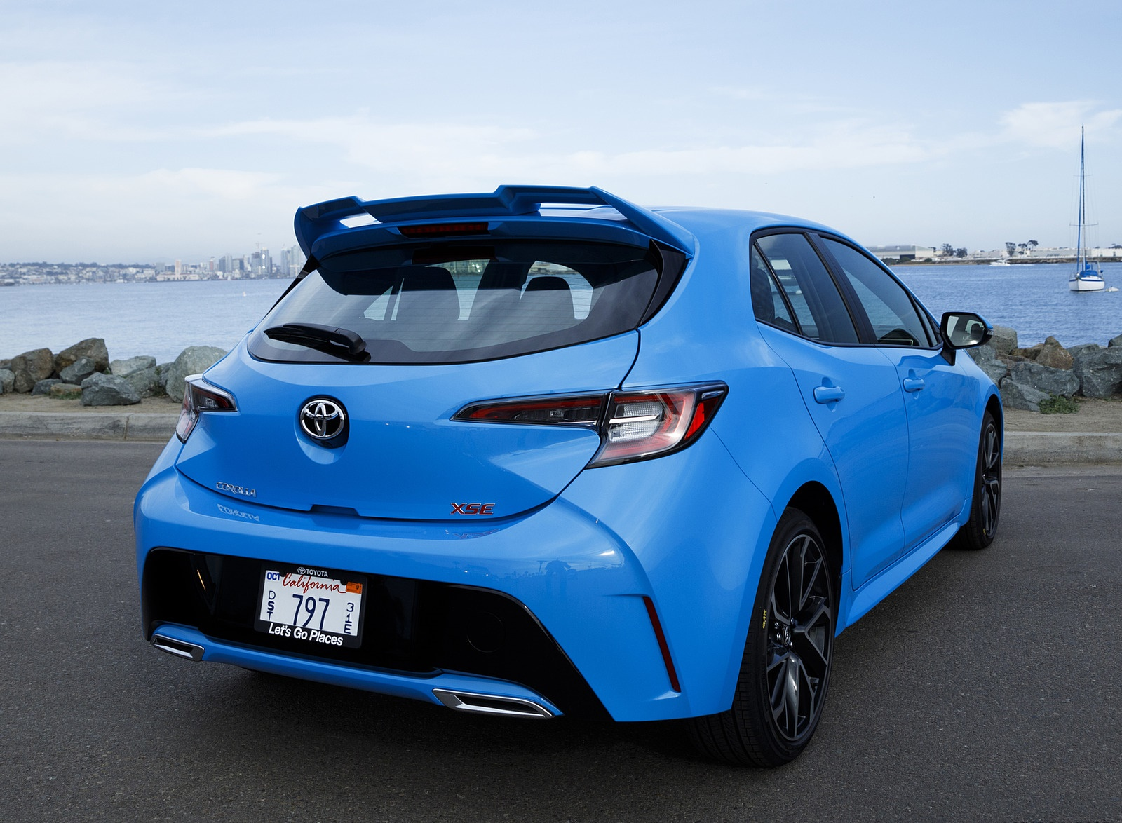 2019 Toyota Corolla Hatchback Rear Wallpapers #27 of 75