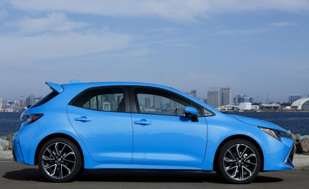 2019 Toyota Corolla Hatchback Side Wallpapers 450x275 (26)